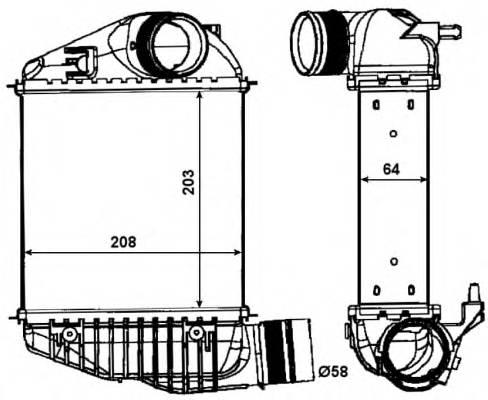 NRF 30015 Интеркулер