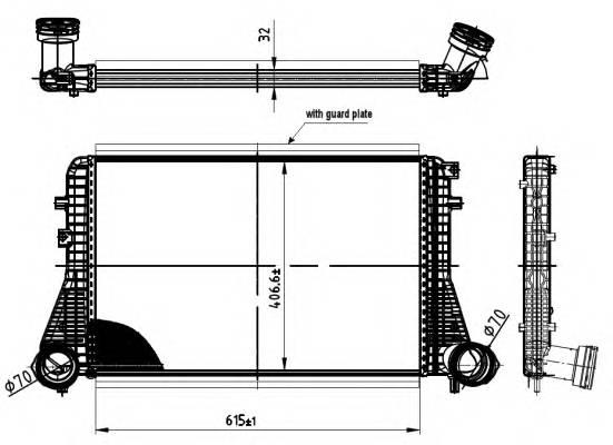 NRF 30454 Интеркулер
