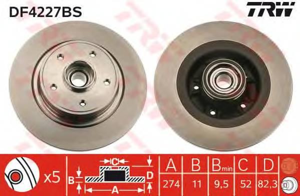 TRW DF4227BS купить в Украине по выгодным ценам от компании ULC