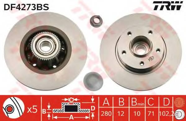 TRW DF4273BS купить в Украине по выгодным ценам от компании ULC
