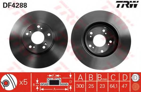 TRW DF4288 купить в Украине по выгодным ценам от компании ULC