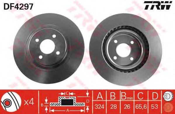TRW DF4297 купить в Украине по выгодным ценам от компании ULC