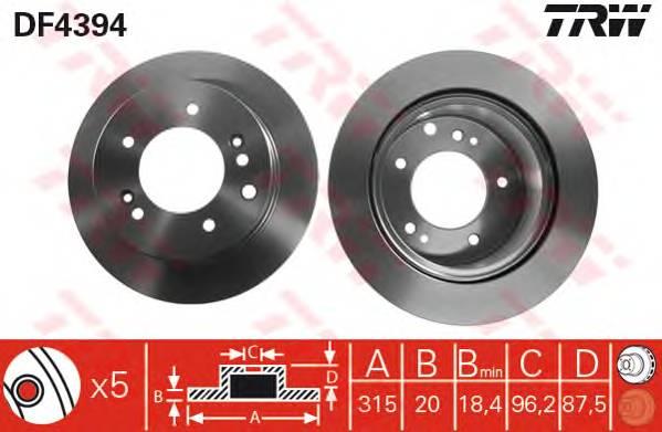 TRW DF4394 купить в Украине по выгодным ценам от компании ULC