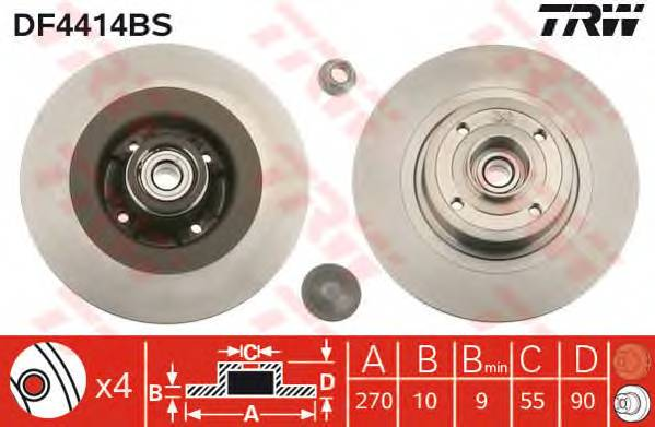 TRW DF4414BS купить в Украине по выгодным ценам от компании ULC