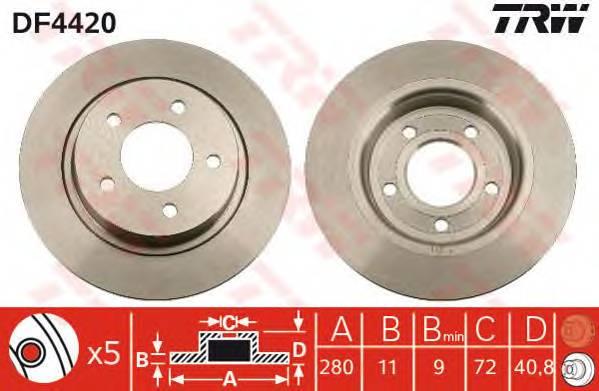 TRW DF4420 купить в Украине по выгодным ценам от компании ULC