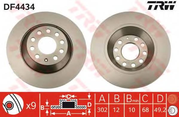 TRW DF4434 купить в Украине по выгодным ценам от компании ULC