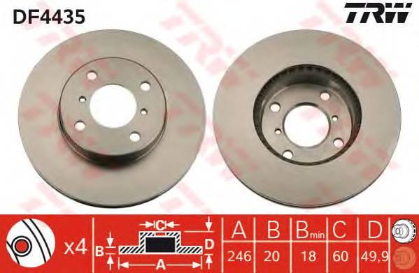 TRW DF4435 купить в Украине по выгодным ценам от компании ULC