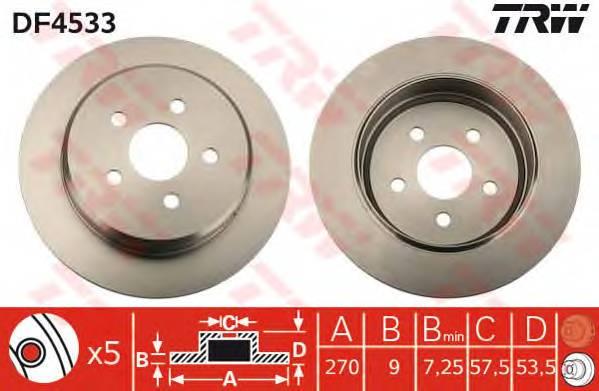TRW DF4533 купить в Украине по выгодным ценам от компании ULC
