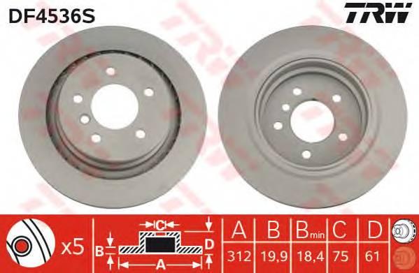 TRW DF4536S купить в Украине по выгодным ценам от компании ULC