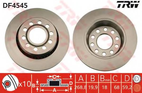 TRW DF4545 купить в Украине по выгодным ценам от компании ULC