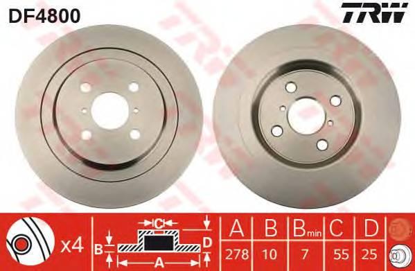 TRW DF4800 купить в Украине по выгодным ценам от компании ULC
