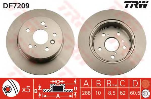 TRW DF7209 купить в Украине по выгодным ценам от компании ULC