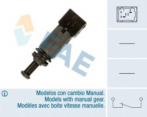 FAE 24890 Выключатель фонаря сигнала