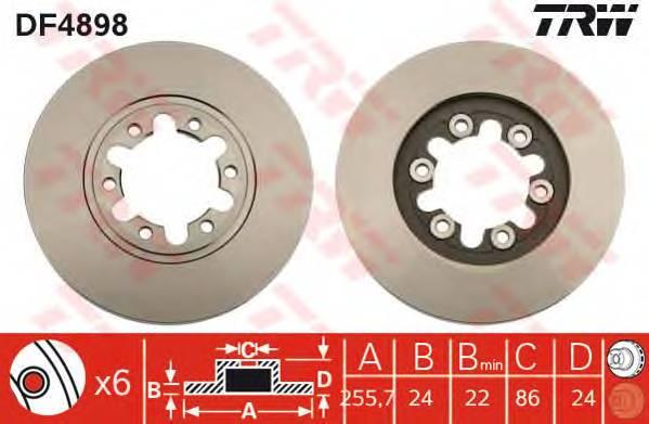 TRW DF4898 купить в Украине по выгодным ценам от компании ULC