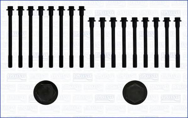 AJUSA 81001400 Комплект болтов головки ци�