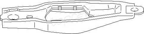 TOPRAN 109 642 Возвратная вилка, система с