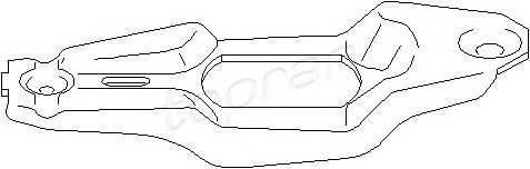 TOPRAN 110 802 Возвратная вилка, система с