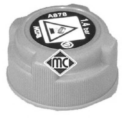Metalcaucho 03795 Крышка, резервуар охлаждаю�