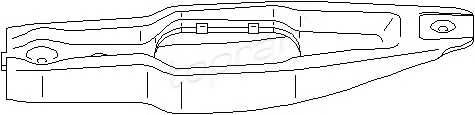 TOPRAN 111 246 Возвратная вилка, система с