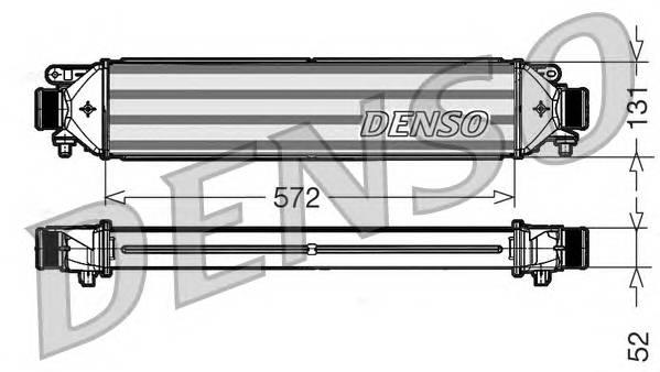 DENSO DIT09109 Интеркулер