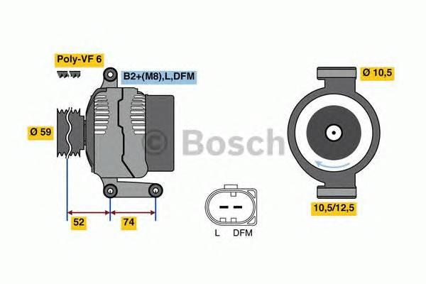 BOSCH 0 125 711 059 купить в Украине по выгодным ценам от компании ULC