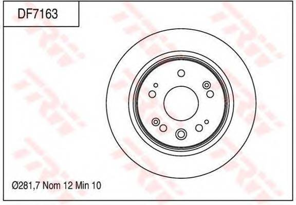 TRW DF7163 купить в Украине по выгодным ценам от компании ULC