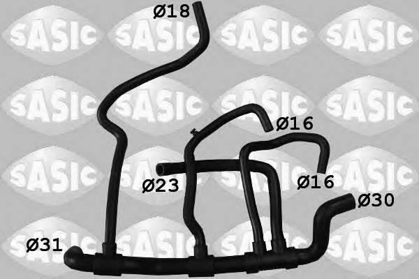 SASIC 3404140 Шланг радиатора