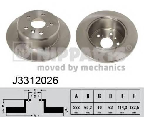 NIPPARTS J3312026 купить в Украине по выгодным ценам от компании ULC