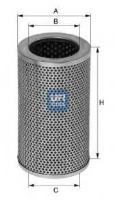 UFI 25.406.01 Масляный фильтр; Гидрофиль�