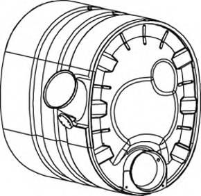 DINEX 80393 Глушитель выхлопных газов �