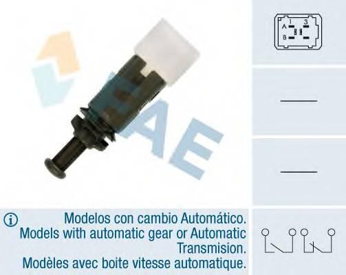 FAE 24895 Выключатель фонаря сигнала