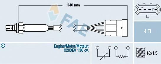 FAE 77300 Лямбда-зонд