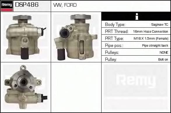 DELCO REMY DSP486 Гидравлический насос, руле�