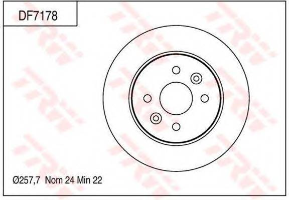 TRW DF7178 купить в Украине по выгодным ценам от компании ULC