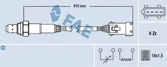 FAE 77432 Лямбда-зонд