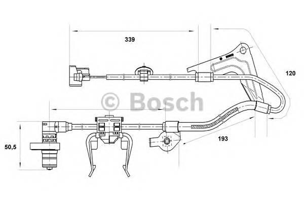 BOSCH 0 265 001 416 купить в Украине по выгодным ценам от компании ULC