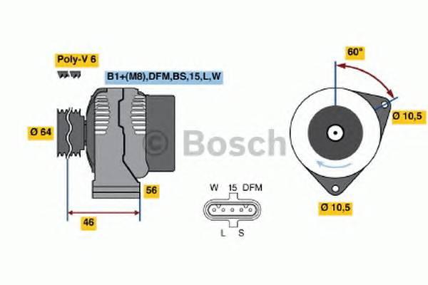 BOSCH 0 124 555 052 купить в Украине по выгодным ценам от компании ULC