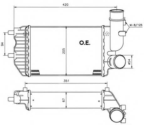 NRF 30066 Интеркулер