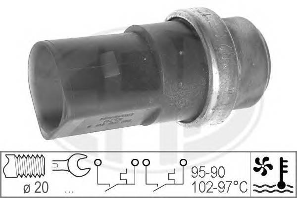 ERA 330231 Термовыключатель, вентилят