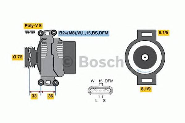 BOSCH 0 124 655 007 купить в Украине по выгодным ценам от компании ULC