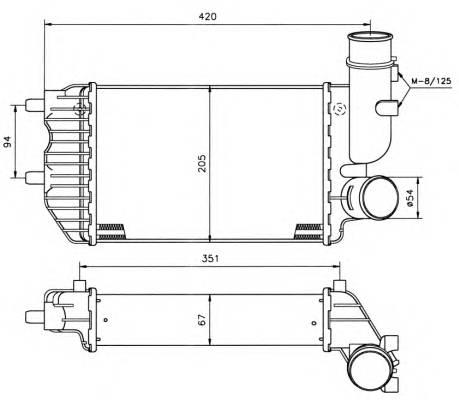 NRF 30066A Интеркулер