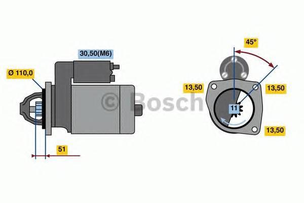 BOSCH 0 001 231 041 купить в Украине по выгодным ценам от компании ULC