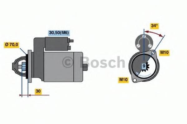 BOSCH 0 001 107 540 купить в Украине по выгодным ценам от компании ULC