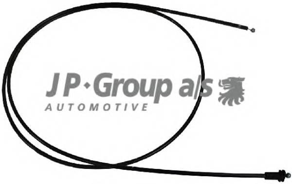 JP GROUP 1170700600 Тросик замка капота