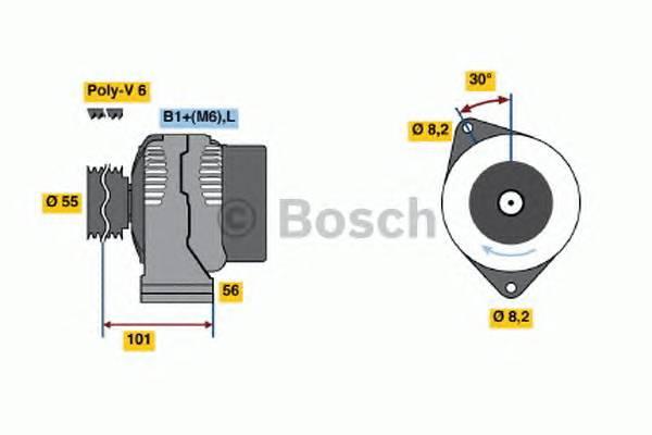 BOSCH 0 124 325 089 купить в Украине по выгодным ценам от компании ULC