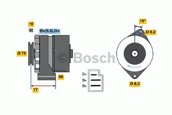 BOSCH 0 986 030 740 купить в Украине по выгодным ценам от компании ULC