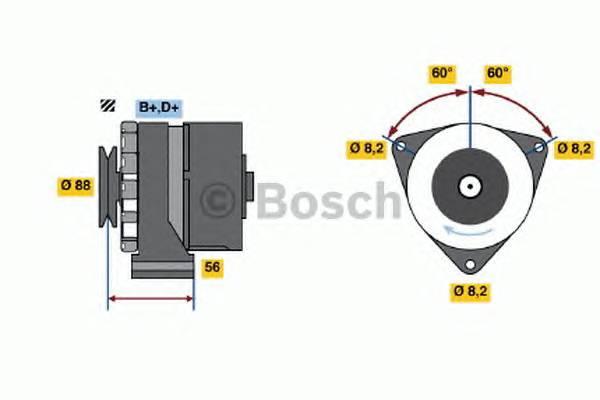 BOSCH 0 986 031 540 купить в Украине по выгодным ценам от компании ULC