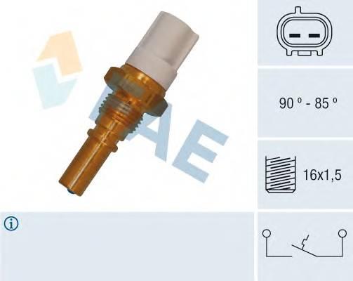 FAE 36545 Термовыключатель, вентилят