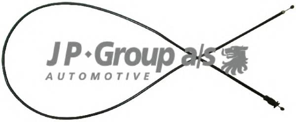 JP GROUP 1170700800 Тросик замка капота