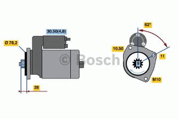 BOSCH 0 001 125 519 купить в Украине по выгодным ценам от компании ULC